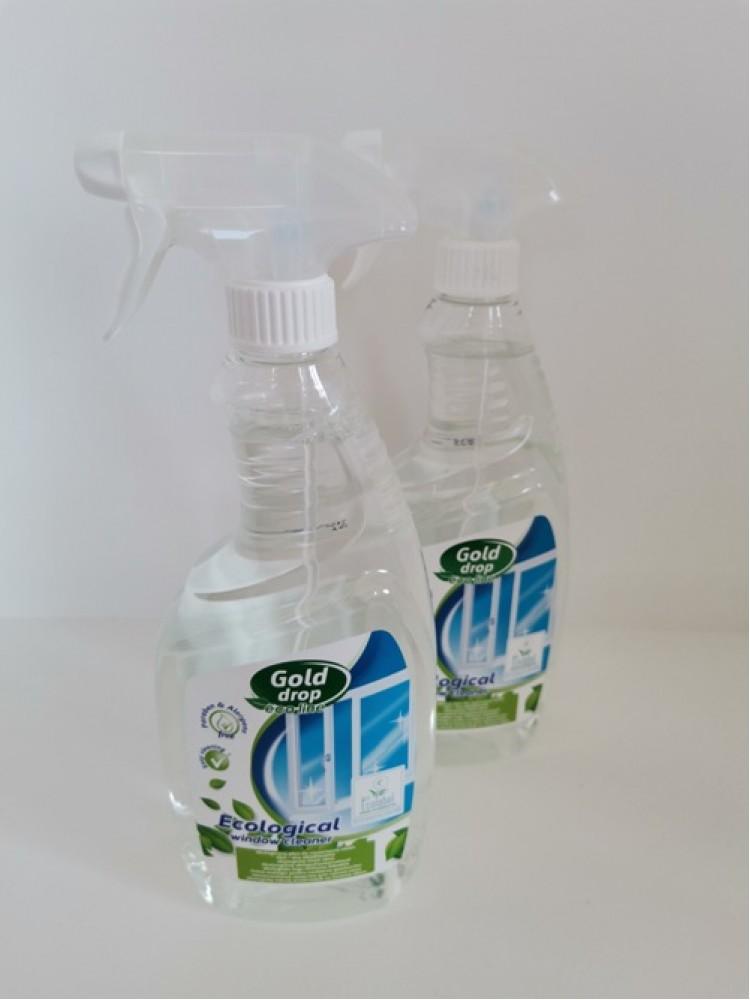 Ekologiškas stiklų valiklis ECOLOGICAL 750 ml