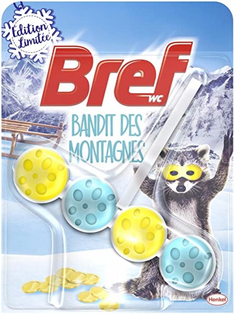 Naujiena WC valiklis Bref bandit des montagnes 50g