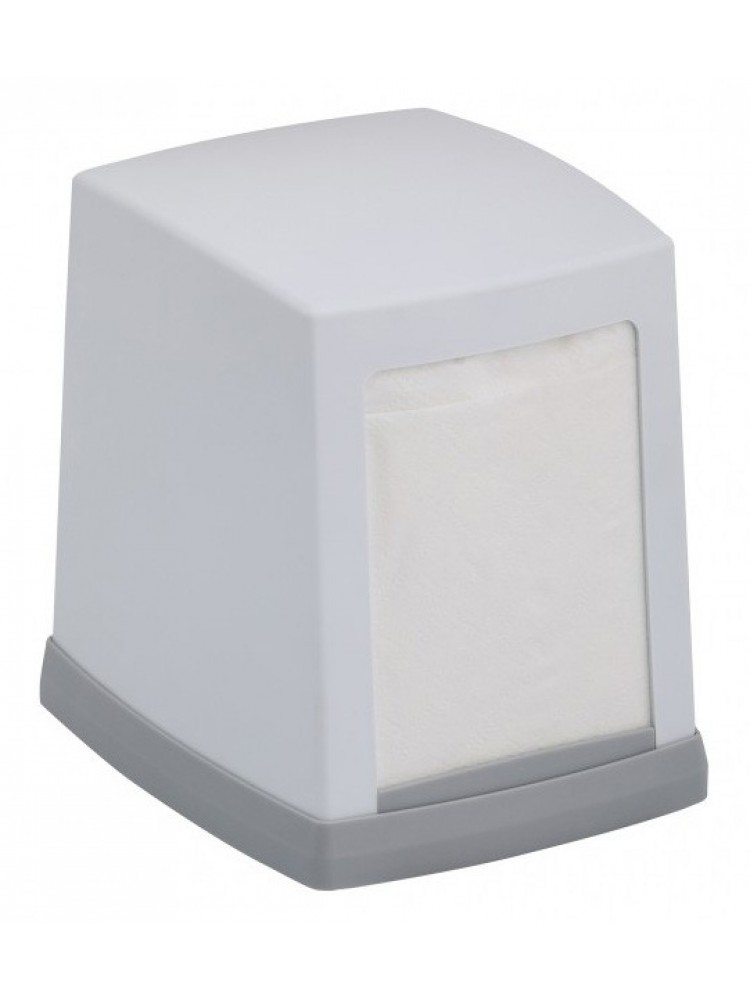 Popierinių stalo servetėlių dozatorius, baltas