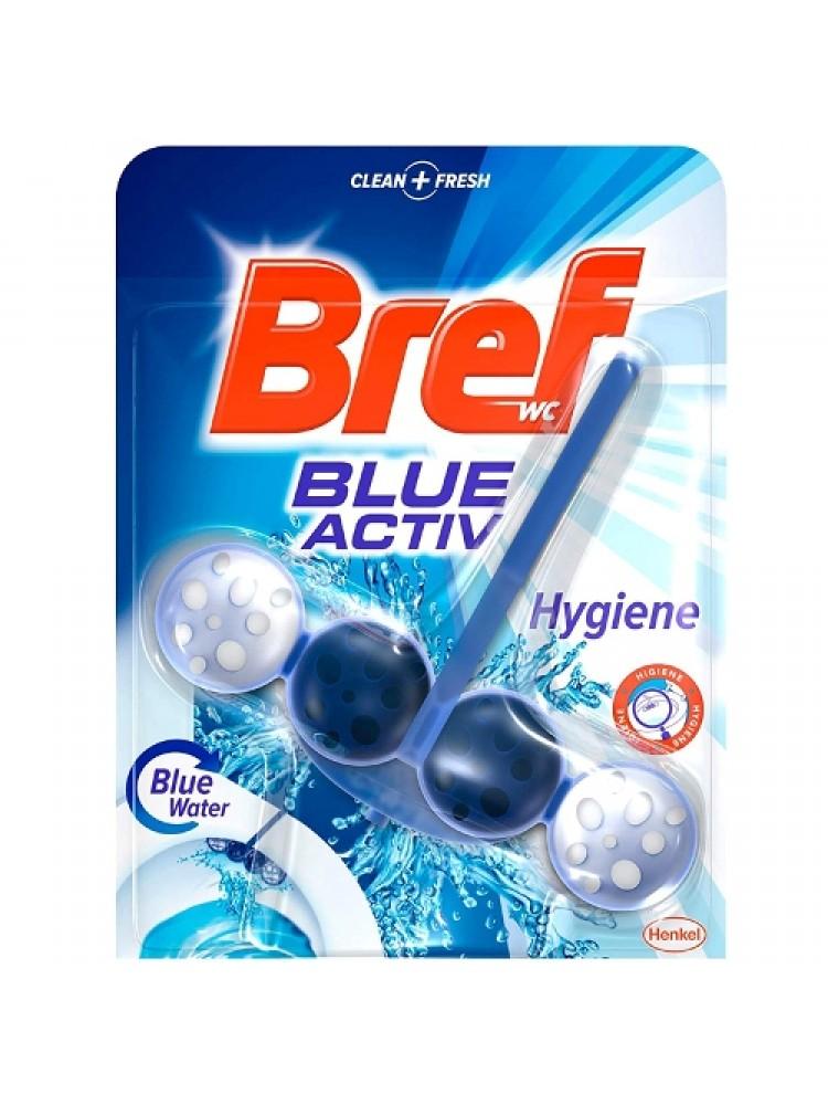 Naujiena WC valiklis Bref blue activ Hygiene 50g